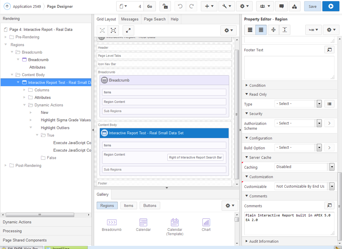 APEX Interactive Reports Part I: - New Features and